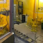 MDP candidate's campaign office vandalised