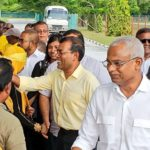 On campaign trail, President Solih appeals for MDP majority