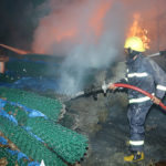 Most turf rolls salvaged after fire
