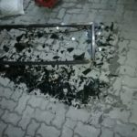 Falling glass injures three people in Malé