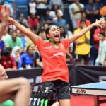 Maldives women's table tennis team wins historic gold at IOIG