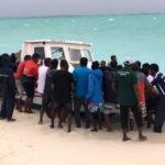 Five dead in tragic accident at sea
