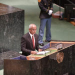 Terrorism, climate change and return to democracy: President Solih addresses UN General Assembly