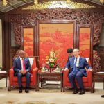 Maldives foreign minister meets Chinese vice president
