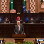 Sri Lankan Prime Minister addresses Maldives parliament