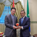 Nasheed reignites 'debt trap' row with Chinese ambassador